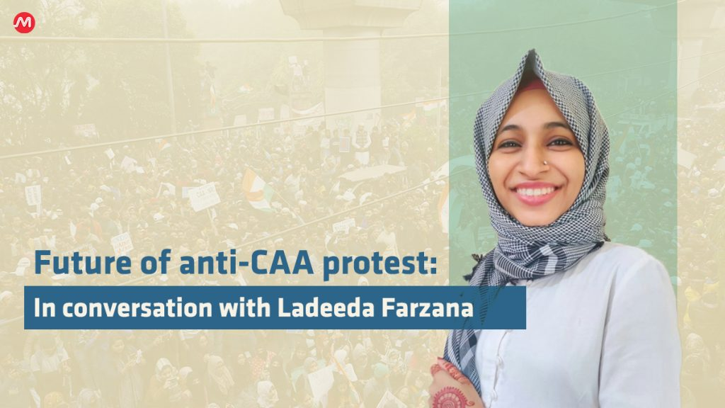 Ladeeda an anti-CAA protester and Muslim Leader