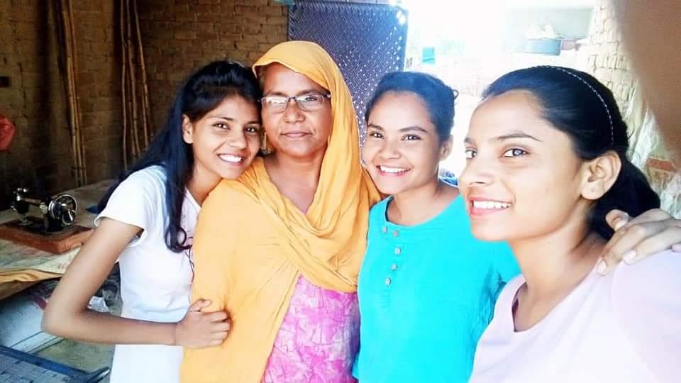 Nodeep Kaur's family