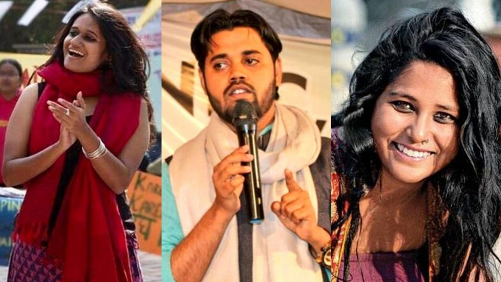 Delhi HC grants bail to Devangana Kalita, Natasha Narwal and Asif Iqbal Tanha - Maktoob media
